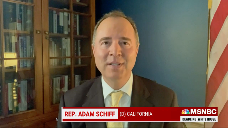 Select committee is investigating Capitol riot as 'conspiracy to commit a coup': Adam Schiff