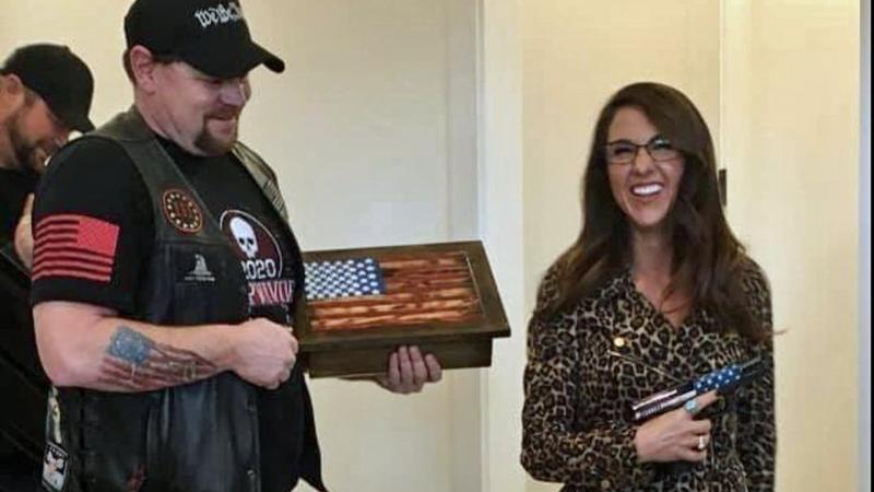 GOP's Lauren Boebert in ethics flap for accepting gun from Three Percenters militia
