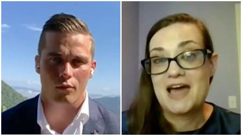 GOP's Madison Cawthorn gets thrown for a loop after trying to corner extremism expert