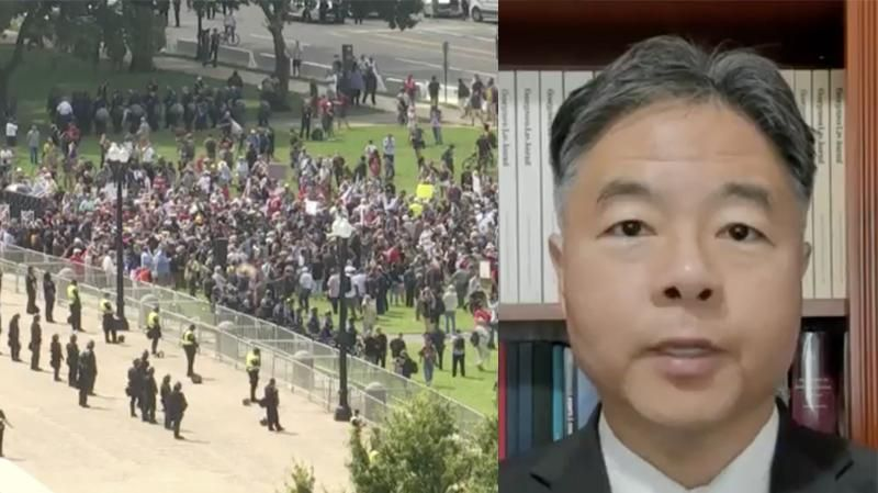 'Traitors': Dem Ted Lieu calls out 'Justice for J6' attendees during MSNBC interview