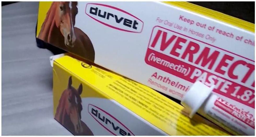 Ivermectin believers have become 'radicalized' and now advocate 'inhaling food-grade hydrogen peroxide': reporter