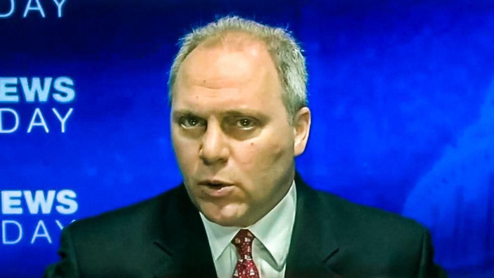 'Spineless' and 'abominable' Steve Scalise slammed after refusing to acknowledge Trump lost