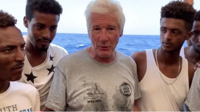 Gere belongs in cinema, not as migrant witness: ex-Italian minister