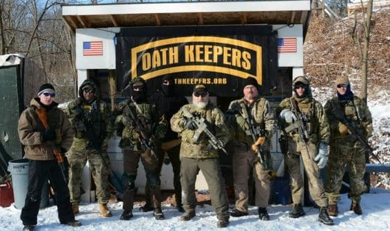 Ex-Oath Keeper terrified FBI is tailing him after calling for protesters to invade DC 'armed in large groups'