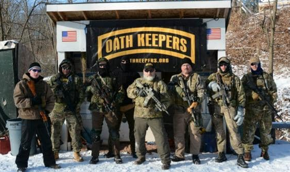 REVEALED: Military contractors with 'sensitive roles' joined Oath Keepers after Jan. 6 attack