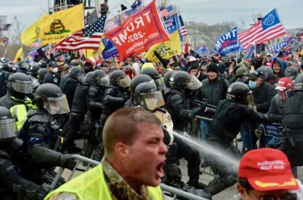 Republicans recasting rioters as victims as they create an 'alternate history' of Trump's insurrection
