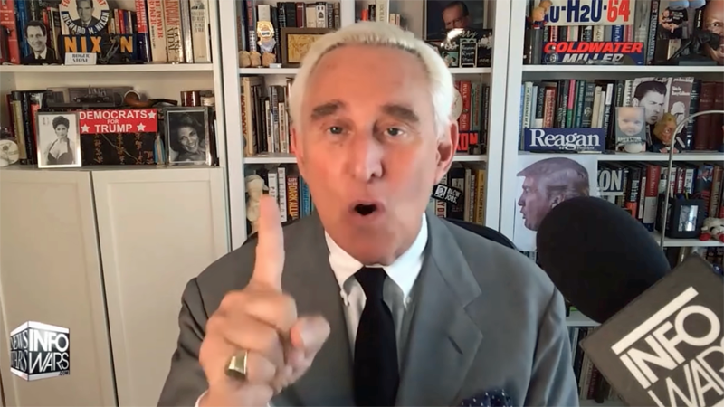 Roger Stone predicts a Donald Trump criminal indictment is on the horizon