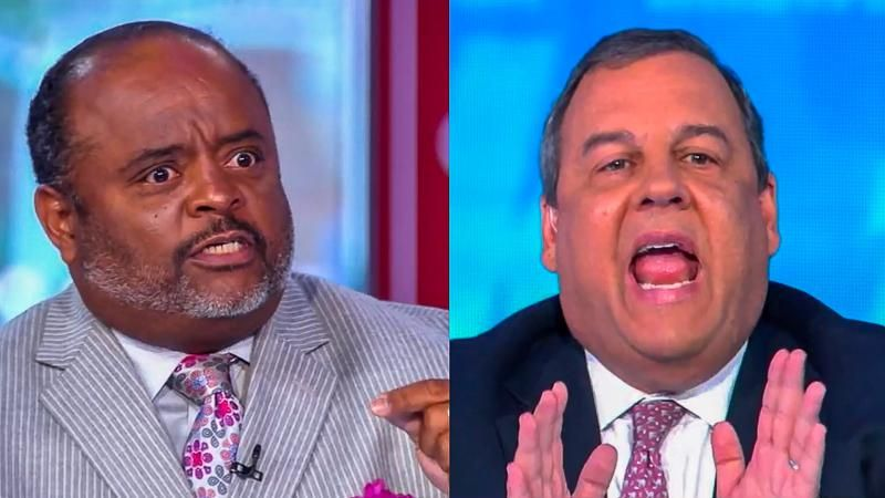 'Admit the role you played': Roland Martin smokes Chris Christie for enabling Trump's conspiracy theories
