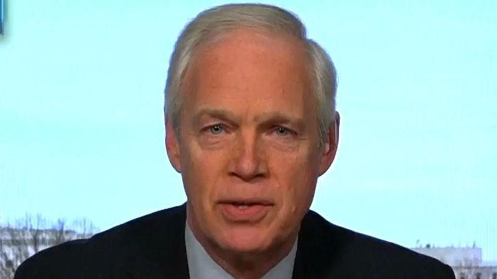 Ron Johnson exposes the real reason why Republicans wouldn't support the Jan 6 commission