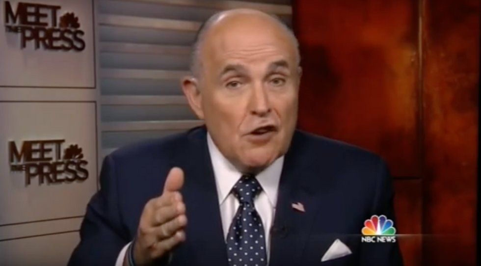 Chuck Todd makes Giuliani listen to Trump's vulgar comments — and then unloads on him
