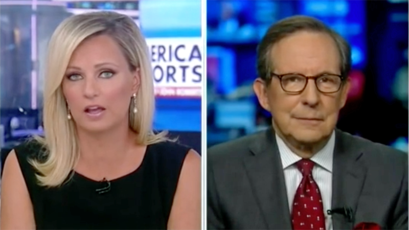 Chris Wallace shuts down Fox host for suggesting Biden officials are not communicating enough