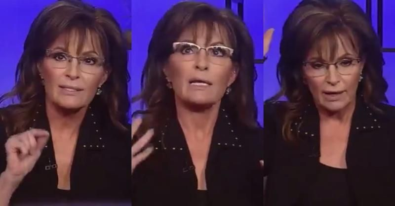 Sarah Palin proudly declares herself a 'white common sense conservative'