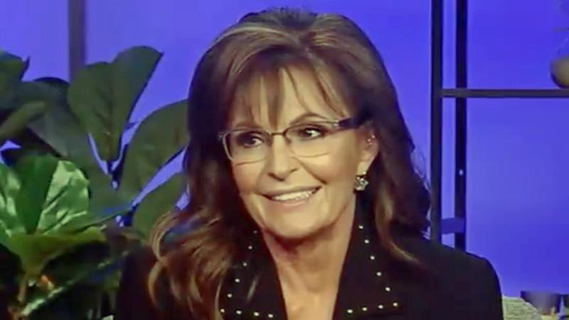 Awkward pause follows Fox News host's comment to former Gov. Sarah Palin