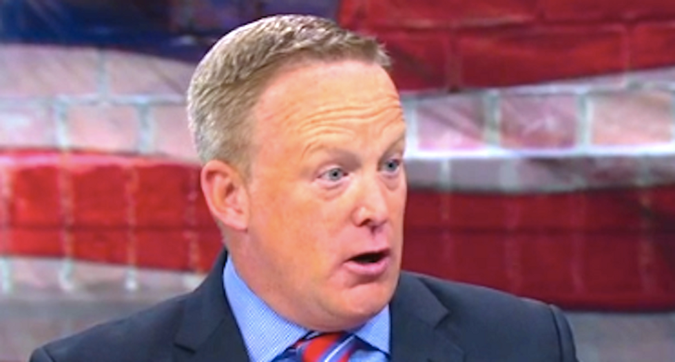 Sean Spicer bitterly complains the press is treating Jen Psaki better than they did him