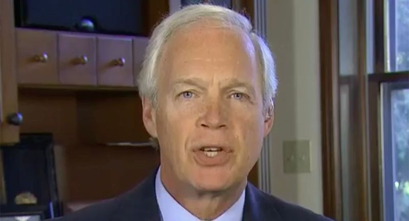 Ron Johnson's 'revisionist' Capitol riot conspiracy slammed as being 'from another planet'