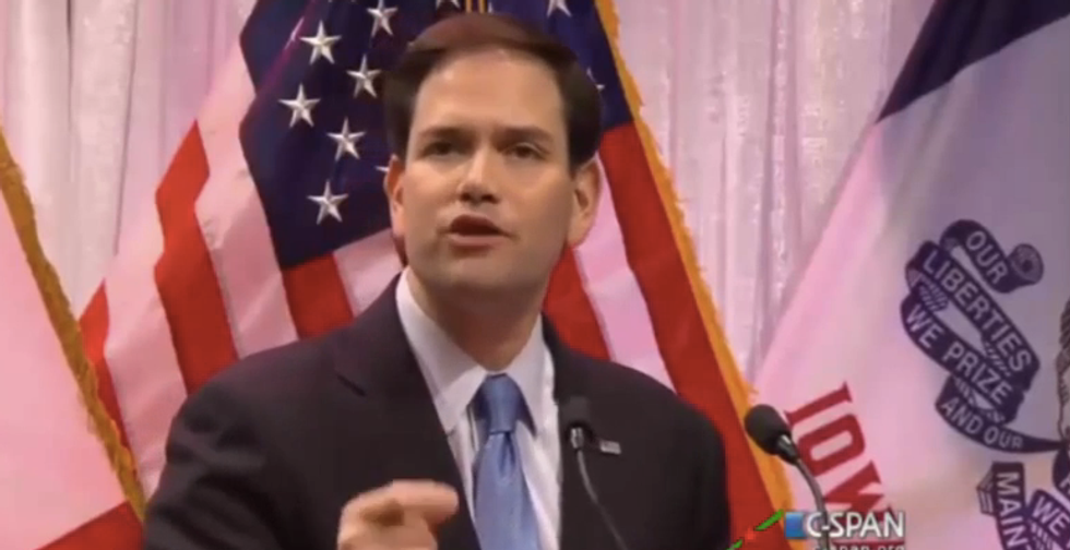 Marco Rubio tells Iowa Christians the 'wrong people' are in charge of America