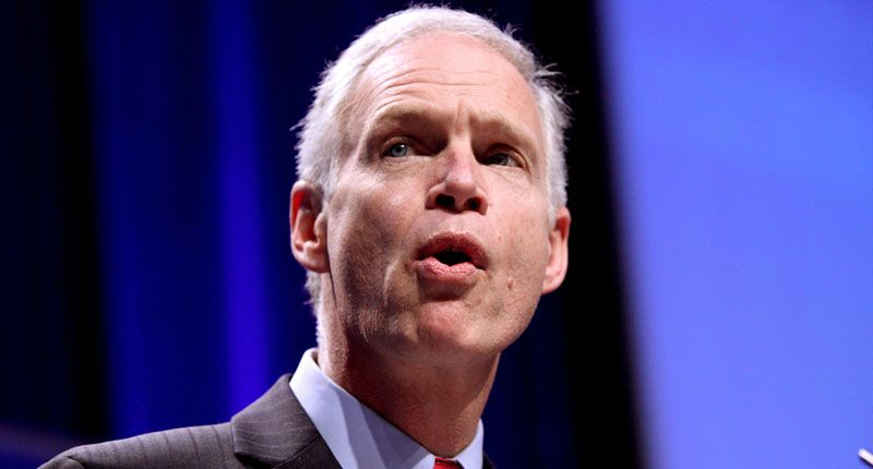 GOP's Ron Johnson delivers a jumbled response after being asked about his Capitol riot conspiracy