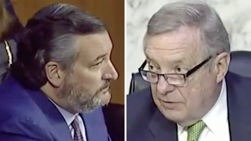 Ted Cruz repeatedly lies about Merrick Garland -- gets smacked down with truth by Dem chairman