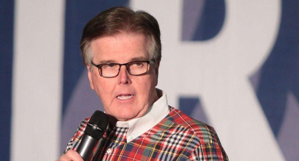 'I want to see if he has his big boy pants on': Texas Democrat challenges Dan Patrick