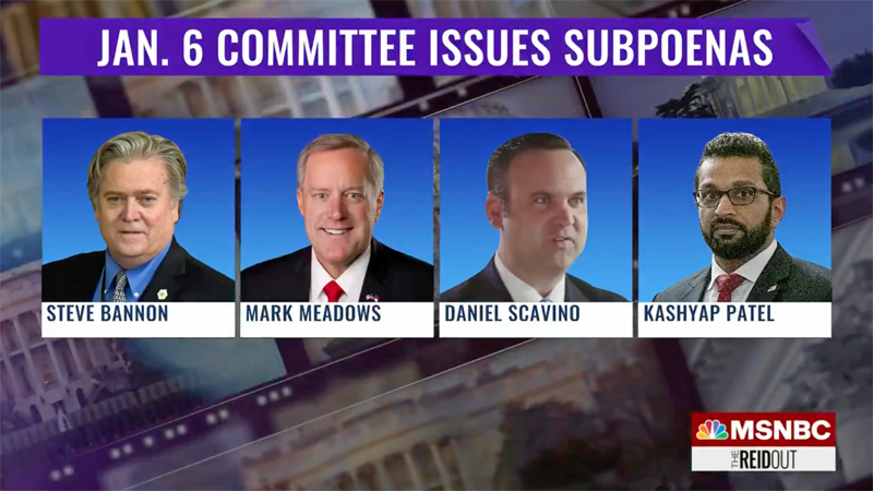 Jan. 6 committee is 'not messing around': legal experts weigh in on subpoenas of Trump officials