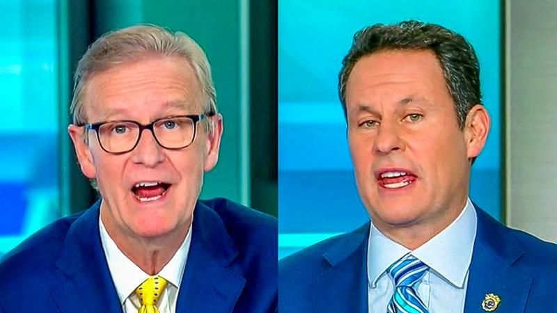 'That's a huge leap': Brian Kilmeade panics at the mention of 'murder charges' for Trump