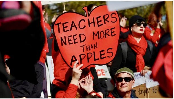 Why are teachers in our country paid less? Because we devalue what they do