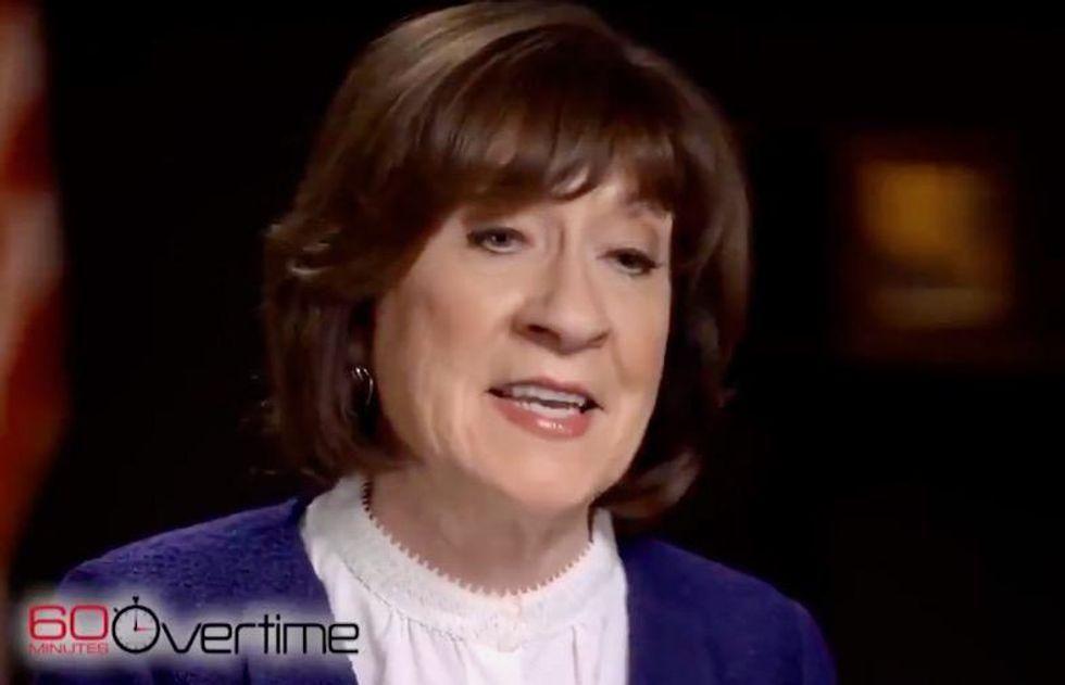 Susan Collins endorses racist pro-Trump former governor