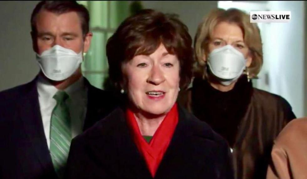FBI investigating whether defense contractor gave illegal contributions to Susan Collins: report