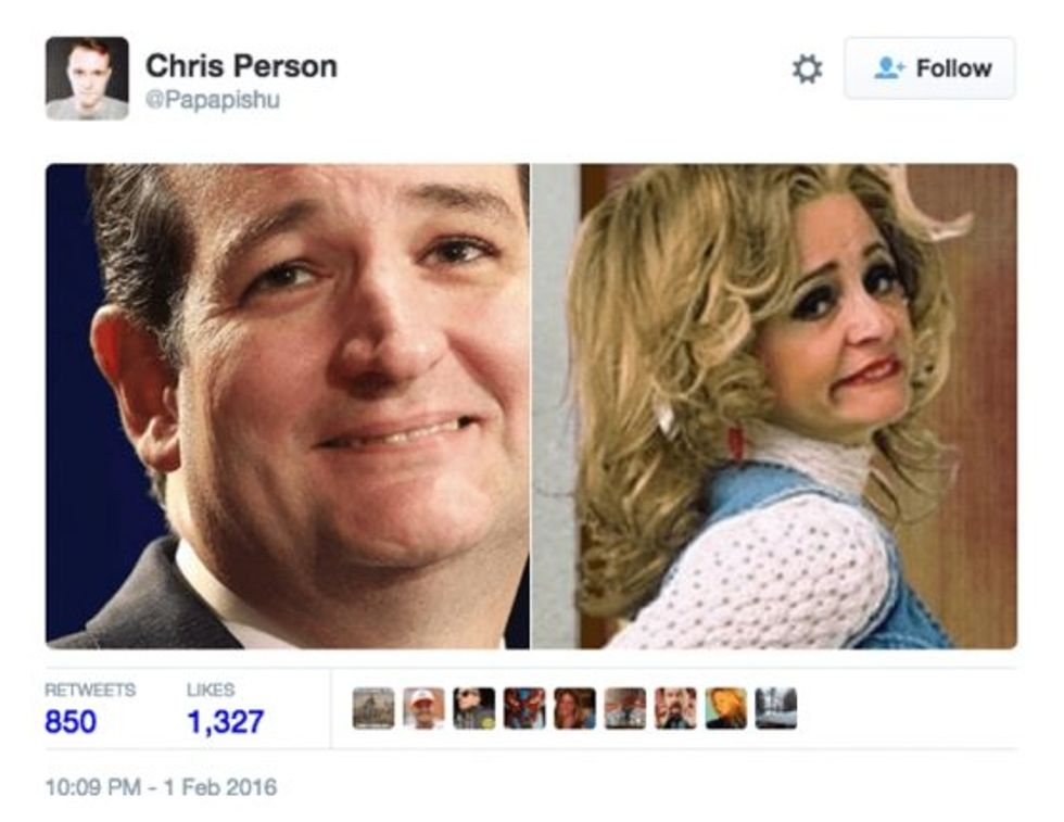 Ted Cruz strangers with candy