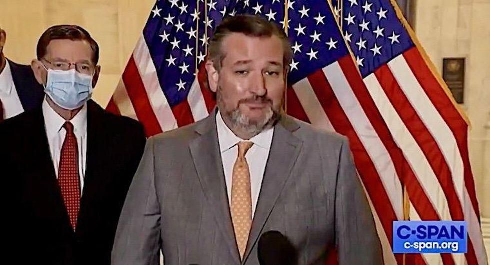 Cruz and Abbott blasted for response to Texas school shooting: 'Blood is on your hands'