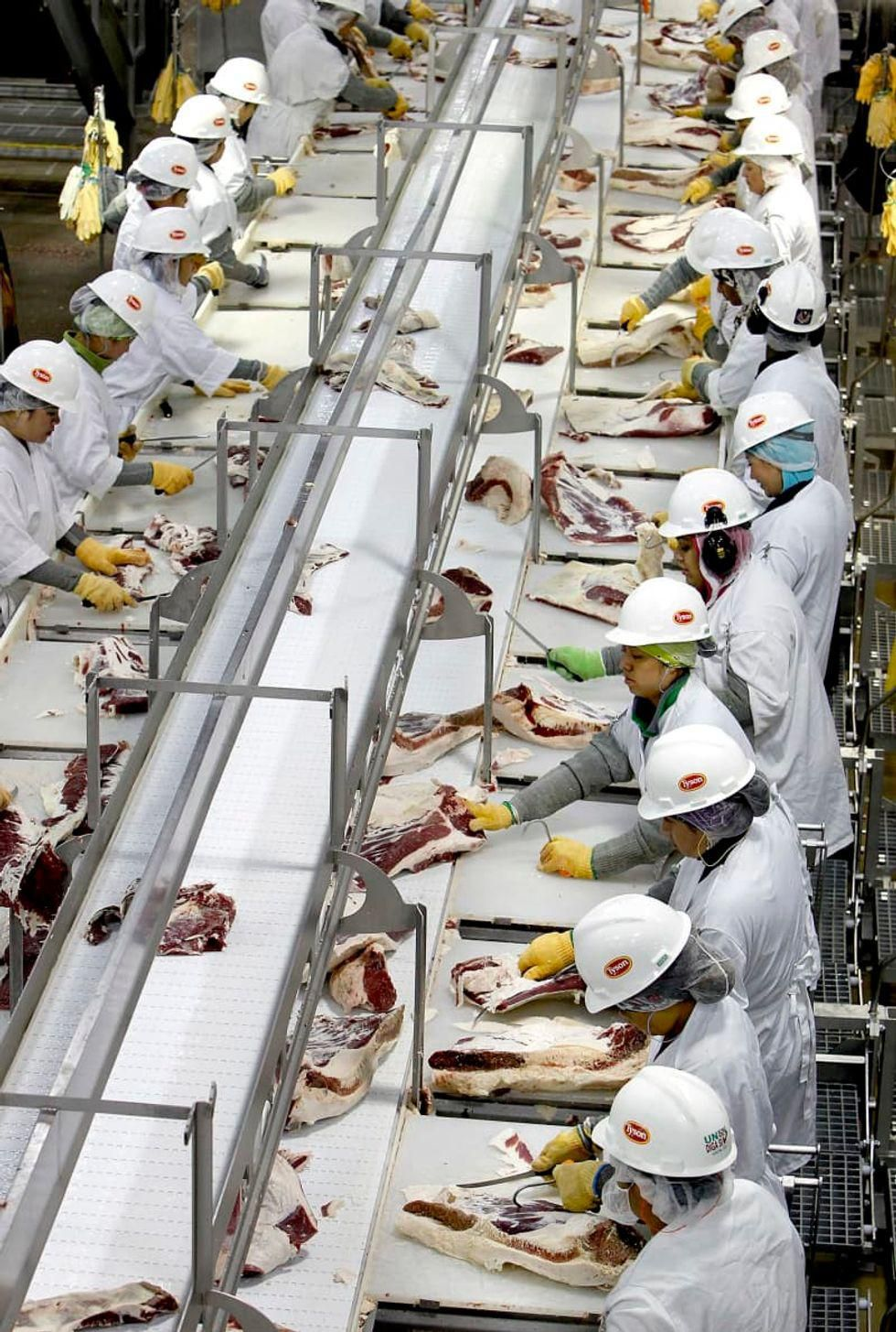 Meat and poultry plants are Covid hotbeds -- and drove outbreaks: report