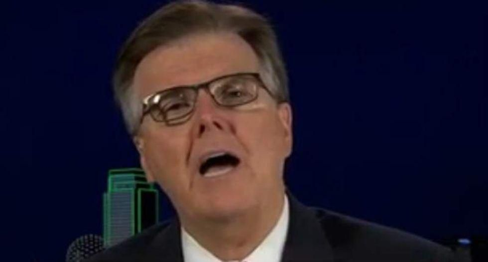 Texas Lt. Gov. Dan Patrick warns Democrats are allowing in immigrants for 'silent revolution,' mirroring language of far-right extremists