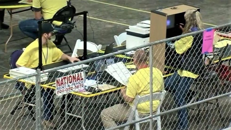 Arizona GOP official burns Trump-backed Cyber Ninjas' 'alarming' vote-counting process in scathing editorial
