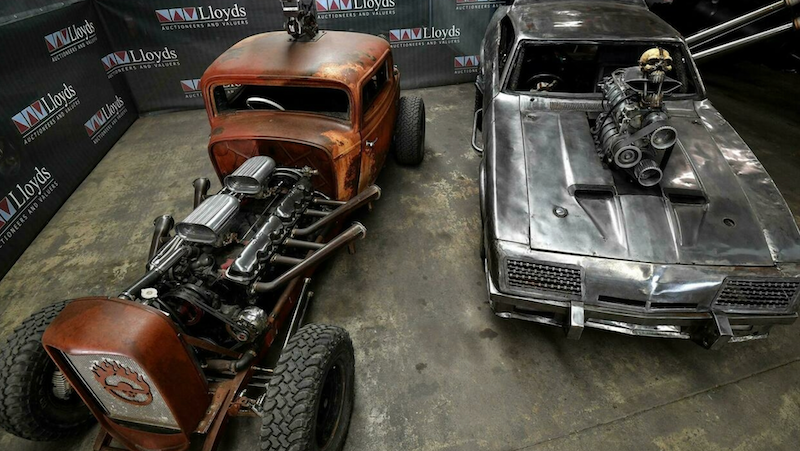 Far-out fleet from Mad Max up for sale in Australia