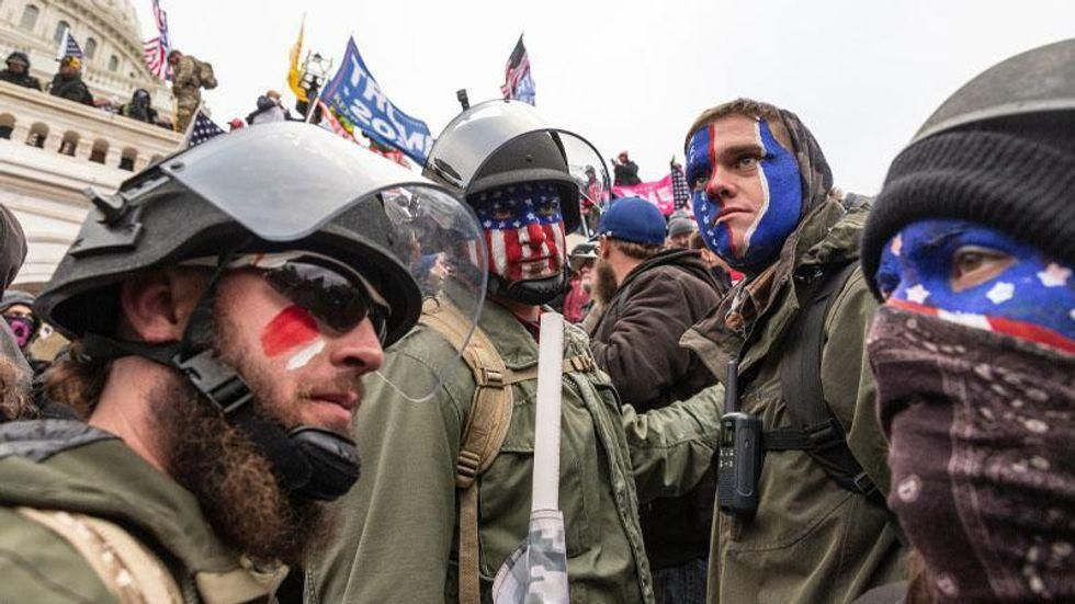 Experts explain why military vets are vulnerable to joining 'dangerous' groups that stormed the Capitol