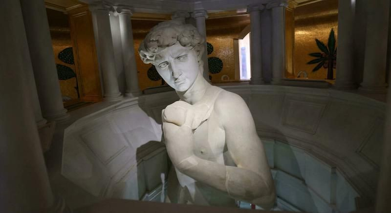 Michelangelo's David not censored at Expo, officials say