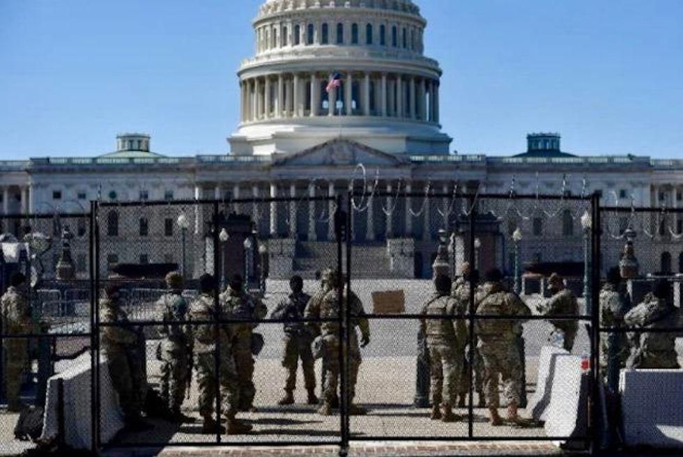 Capitol fence may return as Proud Boys and Oath Keepers prepare to rally for Jan. 6 rioters: report