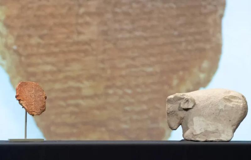 US returns ancient Gilgamesh tablet to Iraq
