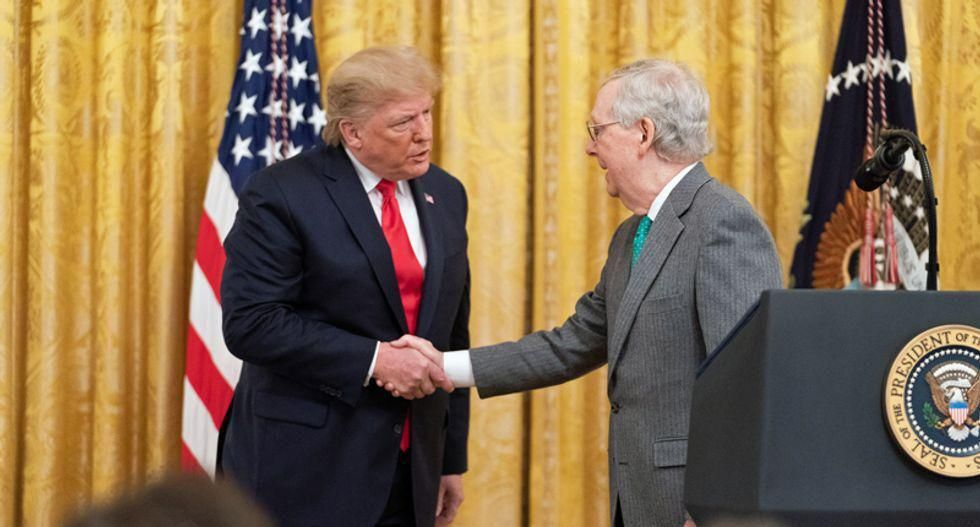 Trump doesn't care if McConnell reclaims the Senate — as long as the GOP remains 'his party': columnist