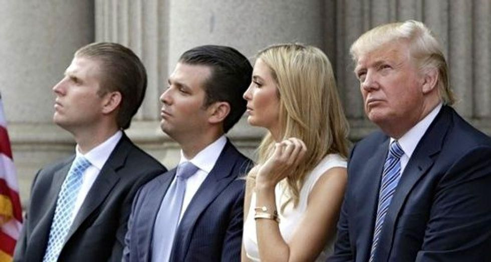 'A symbolic bombshell': Trump family reportedly on the verge of selling off troubled DC hotel
