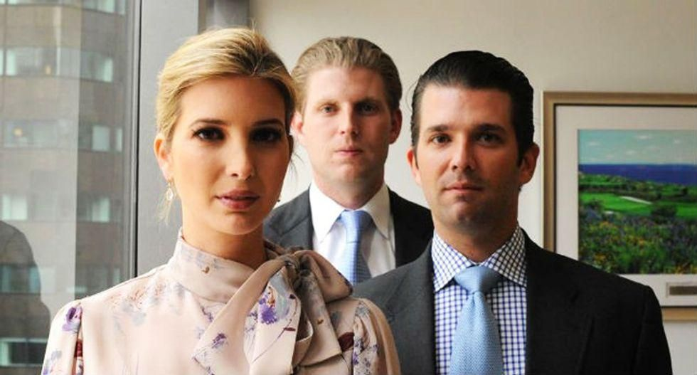 How Trump kids' futures are in full decline now that he's out of office