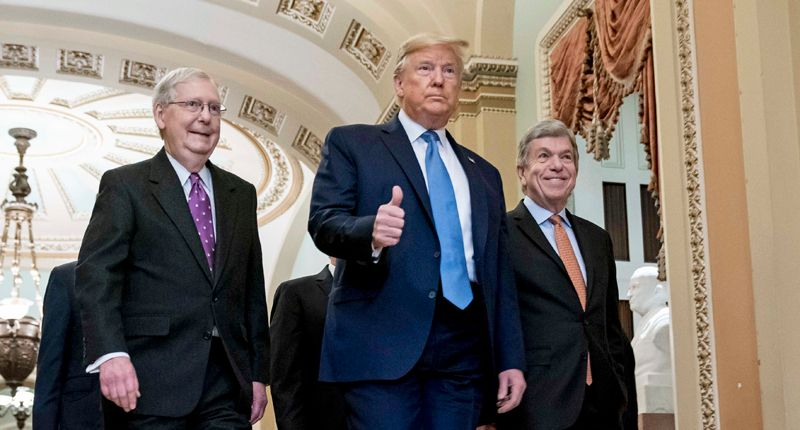 There's more than a 50/50 chance Mitch McConnell would vote to convict Trump: Axios