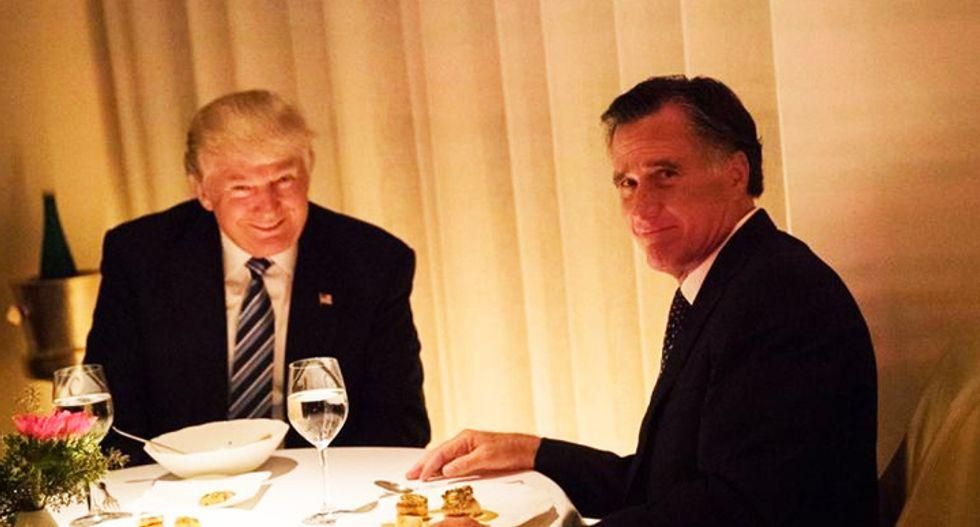 New book reveals the infamous Trump dinner with Mitt Romney was exactly what people thought