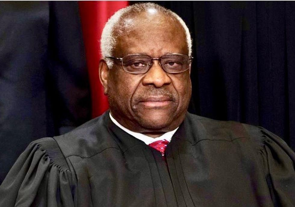 Legal experts slam Clarence Thomas for 'speaking out against something he is actively doing'