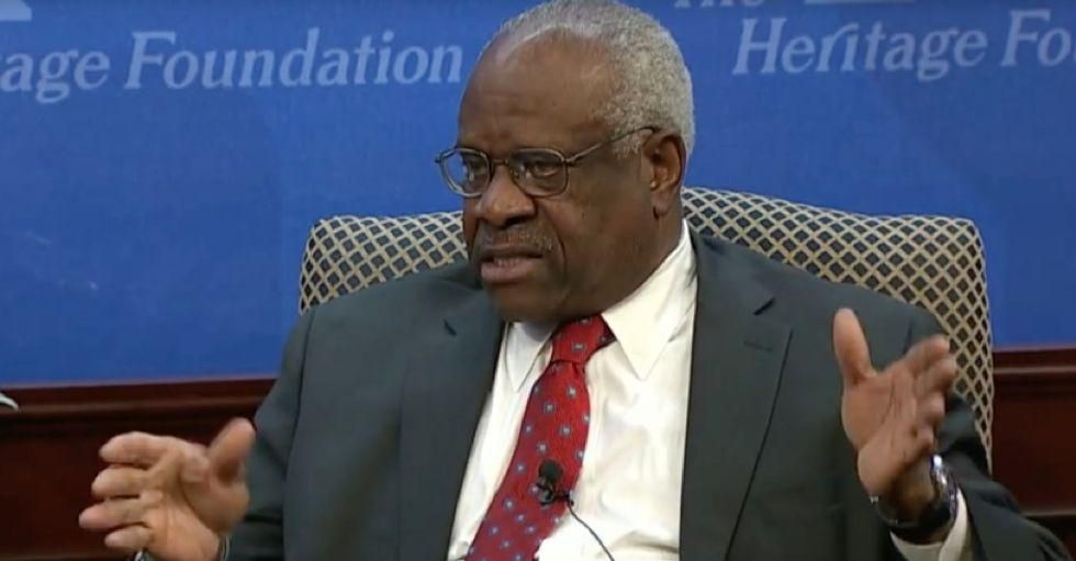 Justice Clarence Thomas believes media criticism of decisions 'jeopardizes any faith' in the Supreme Court