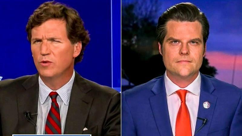 Tucker Carlson furious at Matt Gaetz for including him in sex scandal defense: report