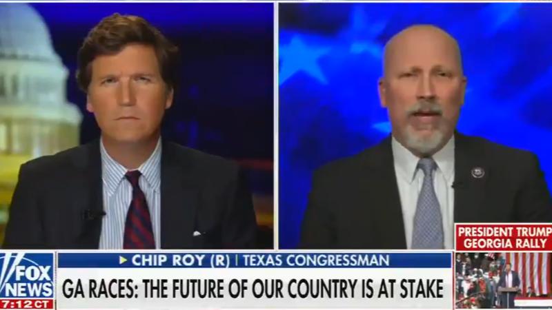 WATCH: Texas Republican threatens civil war if Democrats win Georgia runoff elections