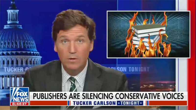 Tucker Carlson hilariously demolishes his own argument on 'cancel culture' — in only 30 seconds