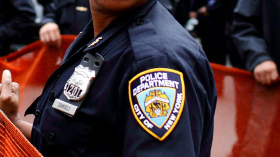 Leaked emails reveal connections between right-wing Oath Keepers and NYPD officers