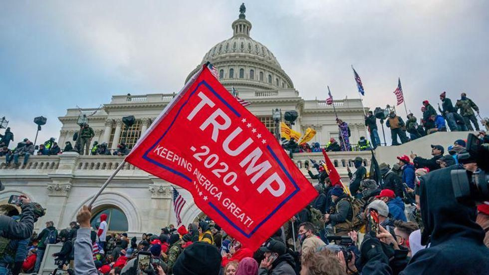 Expert: Don't be fooled by poor turnout at 'Justice for J6' — pro-Trump fascists are winning